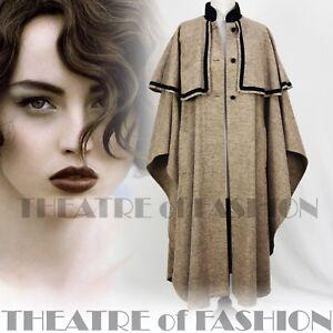 Vintage Laura Velvet Rare Coat Jacket Regency Cape Ashley Beauty Tweed Victorian xHZXwIqp