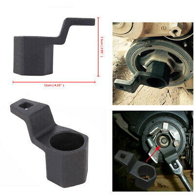 50mm Hex Crankshaft Spanner Crank Pulley Wrench Holder Tool For Honda Accord