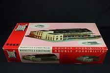 W092 JOUEF Train rare maquette Ho 1020 gare plastique diorama double possibilité