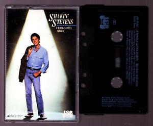 SHAKIN-039-STEVENS-A-Whole-Lotta-Shaky-Cassette-Tape-Vintage