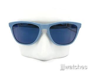 5a82b47bca Image is loading Oakley-Frogskins-Razor-Blades-Polished-Blue-Ice-Iridium-