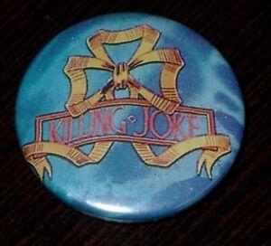 Killing-Joke-Badge-Button-Musique-Rock-gothique-britannique-Annee-80-Vintage