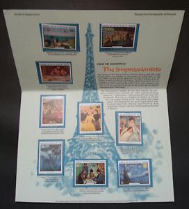 SJ-Rwanda-Great-Art-Masterpieces-The-Impressionists-1980-stamp-MNH-rare