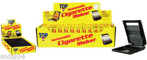 2 PACK Top Automatic Cigatrette Maker Rolling Machine Auto Roller