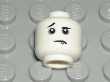 LEGO White Head Frown Fang Tooth Spooky Boy Minifigure 71013