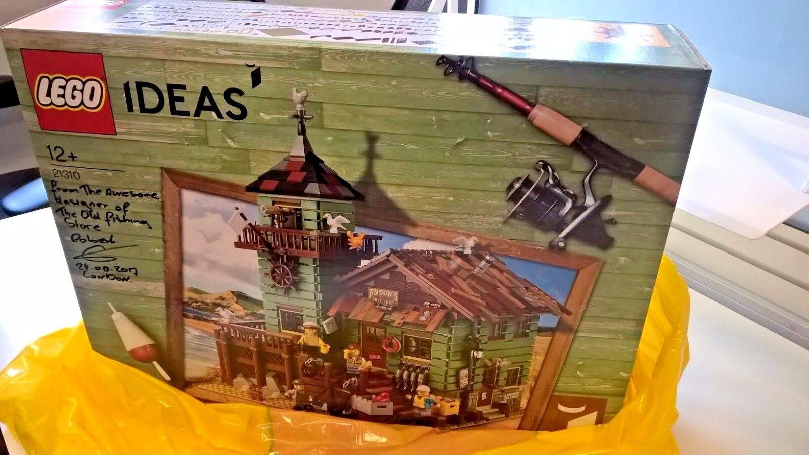De Superbe Old 21310 Lego Idées Signé Avec Noel Message Fishing MVqSUzpG