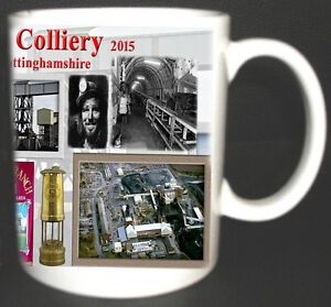 THORESBY-COLLIERY-COAL-MINE-MUG-LIMITED-EDITION-GIFT-MINERS-NOTTINGHAMSHIRE-PIT