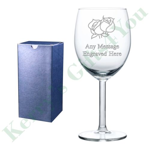Personalised Engraved Glass Gift Love Husband Wife Valentines Birthday Gifts