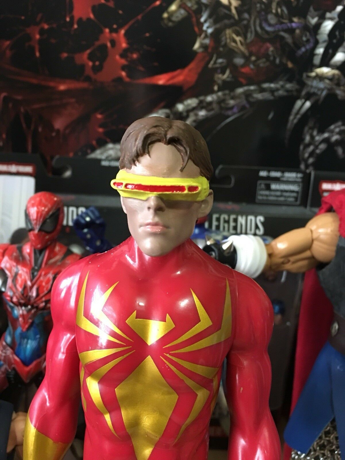 Der x - men - 1   6 - skala headsculpt individuell lackiert
