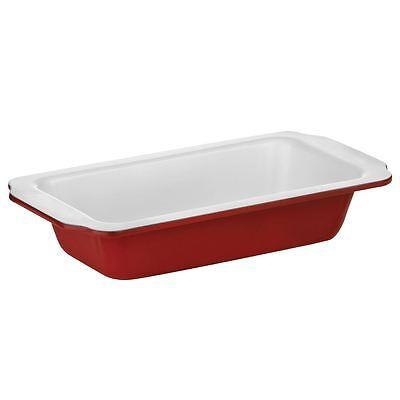 Ecocook Pane Stagno, Rosso In Acciaio Al Carbonio / Bianco Ceramica Rivestimento- Morbido E Leggero
