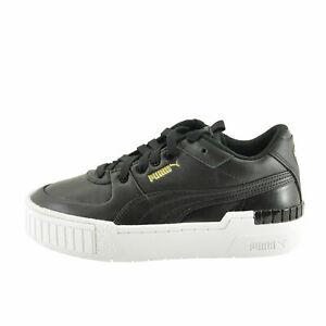 Details about Puma CALI SPORT Black / White Women's Leather Platform  Sneakers 37387102