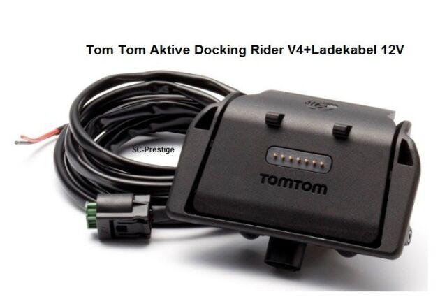 v4 TomTom Ersatzhalterung mit Ladekabel f/ür Rider Europe