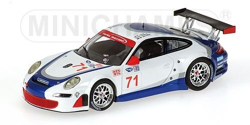 Porsche 911 gt3 RSR HENZLER LIDEL 12 H Sebring 2007 1 43 Model MINICHAMPS