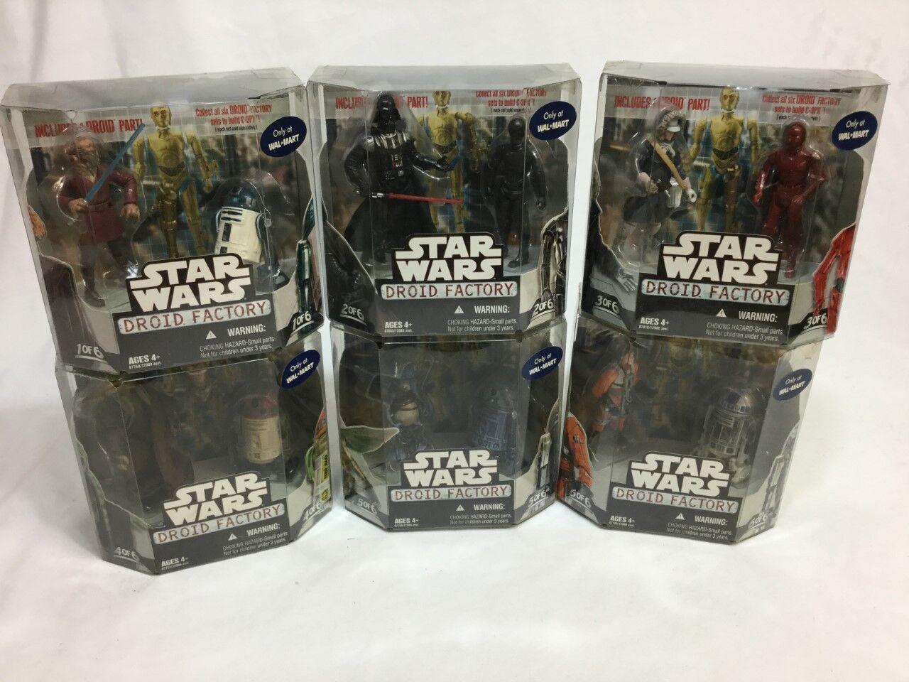 Star Wars Droid Factory 2018 WalMart exclusivo Set Completo En Caja Sellada freeshp