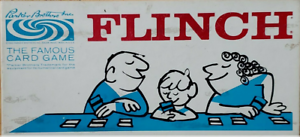 Parker Brothers Flinch Card Game Complete Box Rule Book Vintage Multi Player