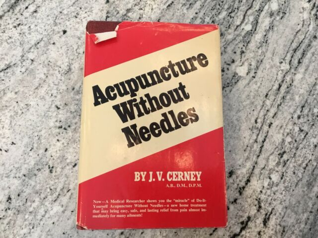 Acupuncture Without Needles Hardcover Cerney | eBay