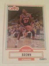 1990 - 1991 Fleer Basketball Update Chucky Brown, card U-16