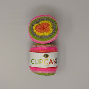 Lion-Brand-Cupcake-Yarn-Spring-Break-2-Skeins-150g-590yd