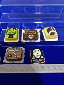Handmade-Miniature-Dollhouse-Sheet-Cakes-Clay-5-pcs-C