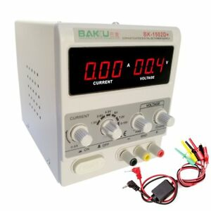 15V-2A-Adjustable-DC-Power-Supply-Precision-Variable-Dual-Digital-Lab-Test-110V