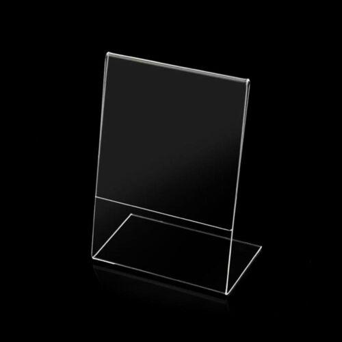 10 PEZZI 10 X Cornice portafoto acrilico da tavolo 13 x 18 Verticale