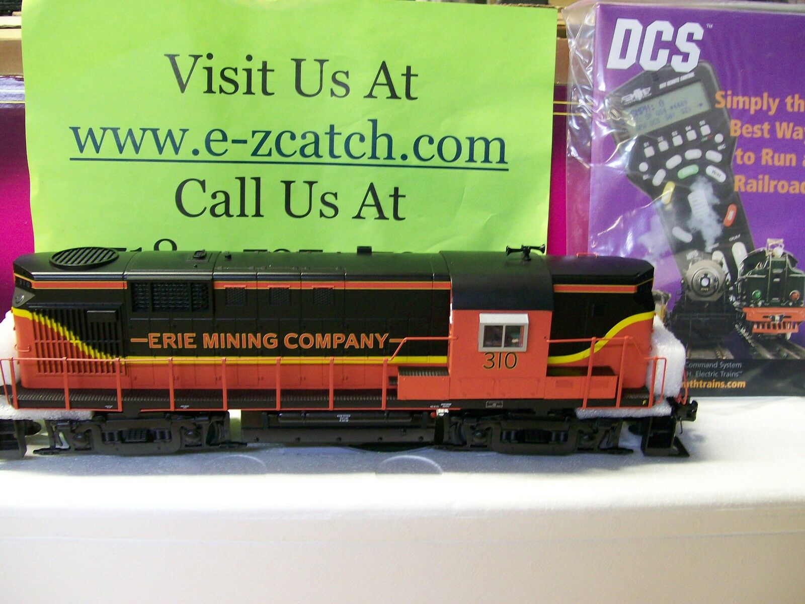 Brand New MTH Erie Mining Company RS-11 High Hood Non Powered Engine Cab