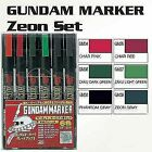 GSI Creos Gundam Marker Ams108 ZEON 6color Set Japan IMPORT