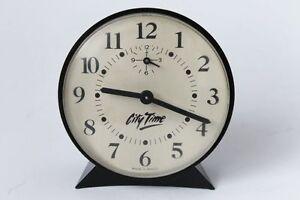 Vintage CITY TIME Brazil Alarm Clock