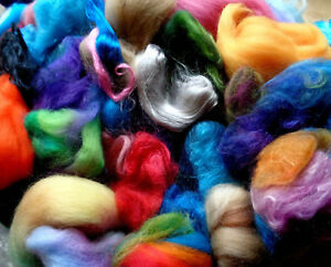 120g-Wool-and-silk-bits-needle-felting-fibre-embellishing-felt-wool-spinning