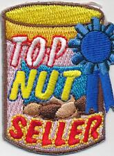 Girl TOP NUT SELLER CAN Fun Patches Crests Badges SCOUTS GUIDES product Iron On