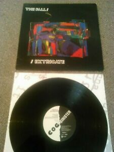 THE-FALL-EXTRICATE-LP-INNER-UK-1ST-PRESS-COG-SINISTER-842-204-1-I-039-M-FRANK