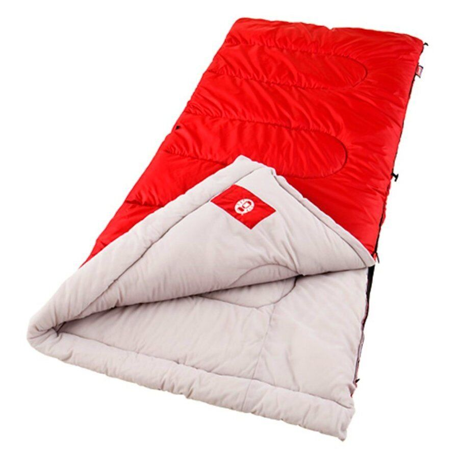 Leeping Bag Cool Weather Palmetto Coleman Camping New Outdoor Red