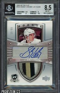 Altered 2005 06 Ud The Cup Sidney Crosby Rpa Rc Rookie