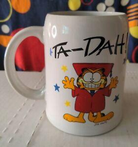 Enesco Garfield Mug Class of 87 Ta-Dah!