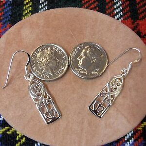 Image Is Loading Sterling Silver New Scottish Charles Rennie Mackintosh Earrings