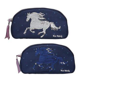 Pferd  10276 Etui Miss Melody Blau Kosmetiketui