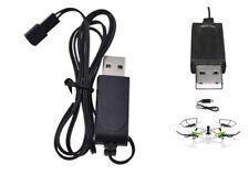 3,7 V schwarz USB-Ladegerät Adapterkabel für Sky Viper Drone Helicopter