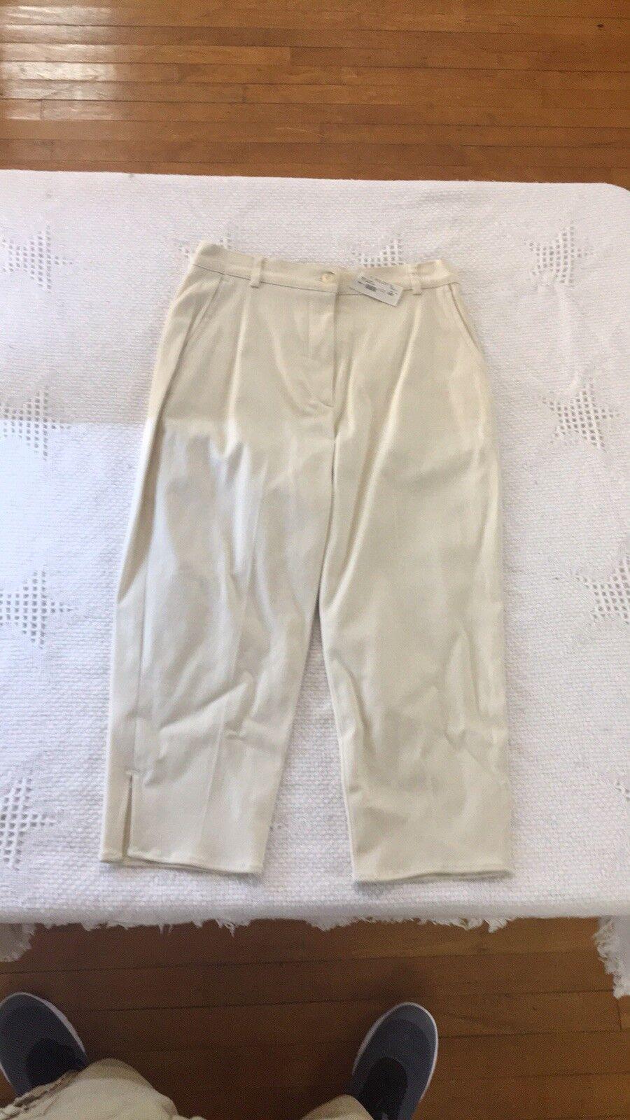 PantsTrousersWOMENJ.R.MORRISSEY  Cropped Pants SIZE 2 NWT  112 E53
