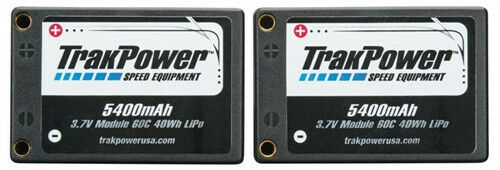TrakPower LiPo 2S 7.4V 5400mAh 60C Saddle Hard Case TKPC0420