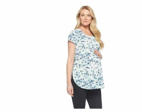 Discount Maternity Clothes New Woven Top Liz Lange Shirt Women's NWT XS S M L XL free shipping