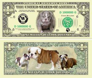 Kittens Million Dollar Bill Classic Fake Play Funny Money Novelty Note SLEEVE