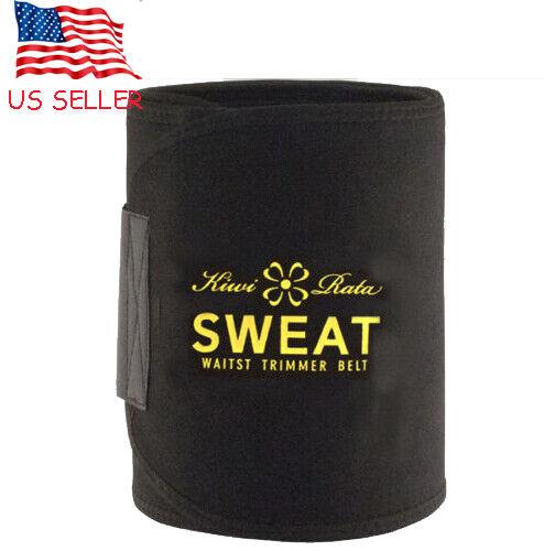 Men/'s Neoprene Sport Belly Compression Body Shaper Fat Burner Waist Trainer Belt