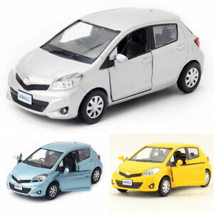 1-36-Scale-Toyota-Yaris-Model-Car-Metal-Diecast-Gift-Toy-Vehicle-Pull-Back-Kids