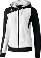 Erima Club 1900 Trainingsjacke, Damen, Gr.42, Weiß/Schwarz, Neu & OVP, UVP 44,95