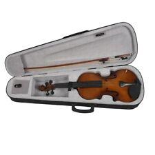 4/4 Full Size Akustische Violine Geigenholz mit Fall Bogen Kolophonium C5S8