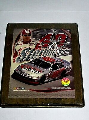 Professional Sale 2003 Racing Reflections Nascar Chip Ganassi W/fleix Sabates Wall Clock Elegant In Smell Racing-nascar