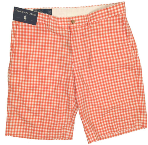 blu Verde Polo Rosso Suffield Shorts New Arancione Gingham Ralph Lauren Stile xOgwxq0BT