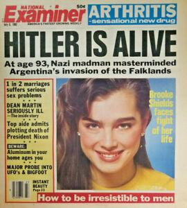 National-Examiner-July-6-1982-Brooke-Shields-Cover-Nazi-Hitler-Alive-UFO