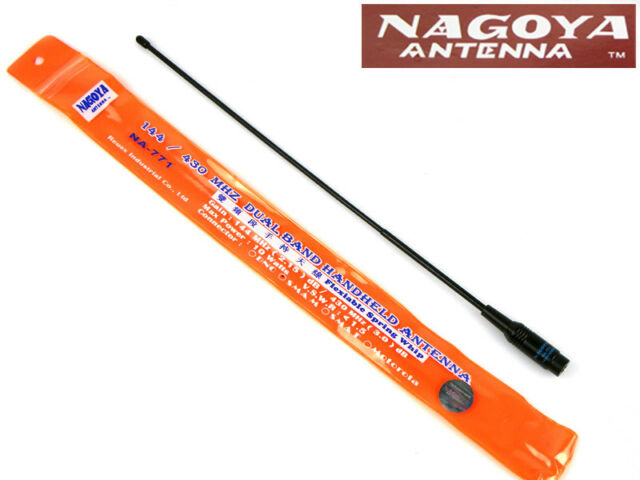 NAGOYA NA-771 UV Dual Band SMA-M Radio Antenna for Wouxun KG-UV6D KG-UV8D Radio