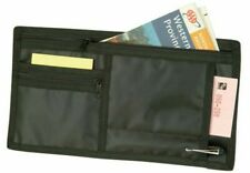 Auto Car Visors Organizer for Registration Insurance Parking Stub Zipper Pockets